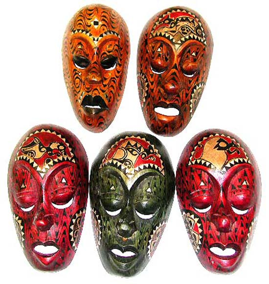 Значения индонезийских масок